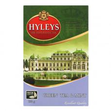 Чай розсипний Hyleys Англійський з м'ятою зелений 100 г (006077)