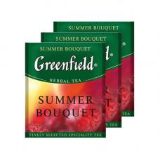 Чай пакетований Greenfield Summer Bouguet травяний з малиною 100 шт. (06431)