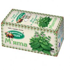 Чай пакетований Карпатський М'ята 20 шт. (10041)