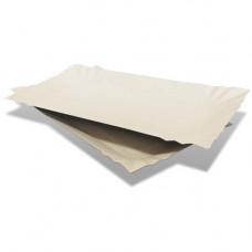 Тарілка картонна з бортиками 14х25 см 100 шт. (106012)