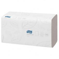 Рушники паперові Tork Advanced Soft H2 двошарові 136 шт. Білі (120288)