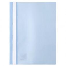 Папка-швидкозшивач Axent А4 з прозорим верхом без перфорації Світло-блакитна (1317-07-A)