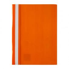 Папка-швидкозшивач Axent А4 з прозорим верхом без перфорації Оранжева (1317-28-A)