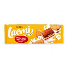 Шоколад молочний Lacmi з шоколадно-горіховою начинкою 295 г (29570)