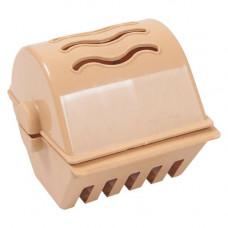Диспенсер для туалетного паперу пластиковий Асорті (325841)