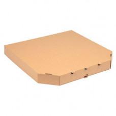 Коробка для піци 340х340х35 мм Коричнева (34034035)