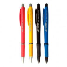 Ручка кулькова 4Office Синя 0.7 мм Асорті (4-2011синя)