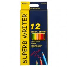Олівці кольорові Marco Superb Writer 12 кольорів (4100-12CB)