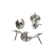Кнопки Axent нікельовані 50 шт. (4201-A)