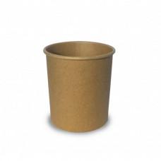 Супниця картонна d97 мм 480 мл 25 шт. Крафт (43526)
