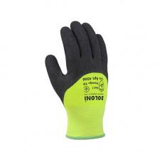 Робочі рукавиці Doloni трикотажні з латексним покриттям р. 10 2 шт. (4566)