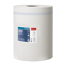 Рушники паперові Tork Reflex одношарові 1 рулон 857 відривів Білі (473242)