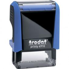 Оснастка для штампу Trodat 26х9 мм Синій корпус (4910 P4 синя)