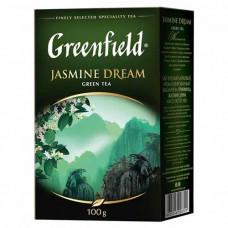 Чай розсипний Greenfield Jasmine Dream зелений 100 г (61085)