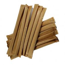 Мішалка дерев'яна в індивідуальній упаковці 14 см 500 шт. (7070)