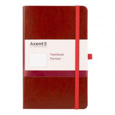 Записна книга Axent Partner Lux A5 96 аркушів у клітинку Червоний (8202-06-A)