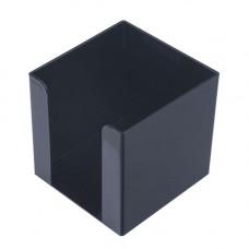 Пластиковий бокс для паперу Арніка 90х90х90 мм Чорний (83033)