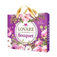 Набір чаїв пакетованих LOVARE Bouquet асорті 30 шт. (874186)