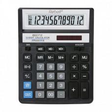 Калькулятор Rebell 12-розрядний (BDC-712BK)