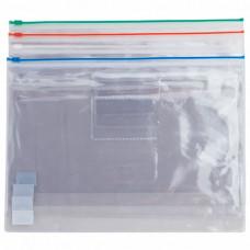 Папка-конверт на блискавці Buromax zip-lock A4 Асорті (BM.3946-99)