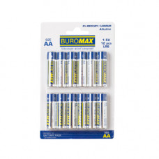 Батарейка Buromax AА LR6 1 шт. (BM.5900-12)