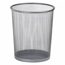 Металевий кошик для паперів Buromax круглий 10 л Срібний (BM.6270-24)
