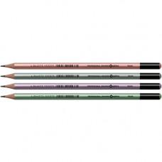 Олівець чорнографітний Optima PEARL HB Асорті (O15537)
