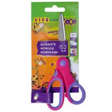 Ножиці дитячі ZiBi 15.2 см ручки з гумовими вставками (ZB.5015-10)