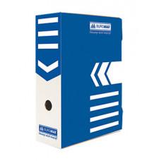 Архівний бокс Buromax для документів 100 мм Синій (BM.3261-02)
