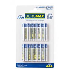 Батарейка Buromax AAA LR03 1 шт. (BM.5901-12)