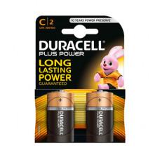 Батарейки Duracell C 1.5V LR14 2 шт. (52529)