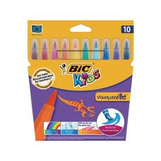 Фломастери BiC Visaquarelle 10 кольорів (bc8289641)
