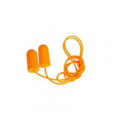 Беруші одноразові Sizam 1280 з PU-піни на шнурку (35021)