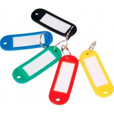 Брелоки для ключів Economix 10 шт асорті (E41637)