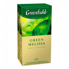 Чай пакетований Greenfield Green Melissa зелений 25 шт. (862341)