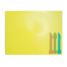 Дошка для пластиліну ZiBi 3 стека жовта (ZB.6910-08)