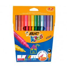 Фломастери BIC Visa 12 кольорів (bc888695)