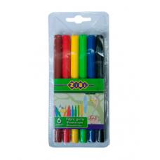 Фломастери ZiBi 6 кольорів (ZB.2801)