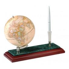 Глобус на дерев'яній підставці Bestar  Червоне дерево+ручка (0913WDM)