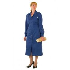 Халат робочий жіночий STUGA Грета Темно-синій (22000901)