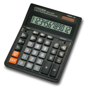 Калькулятор Citizen 12-розрядний (SDC-444S)