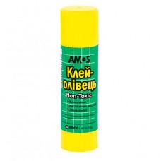 Клей-олівець Amos PVP основа 15 г (Am-3215)