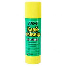 Клей-олівець Amos PVP основа 35 г (Am-3235)