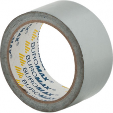 Клейка стрічка Buromax 48 мм х 10 м 24 мкм Срібна (BM.7575-24)