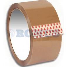 Клейка стрічка пакувальна Romus 48 мм х 100 м 40 мкм Коричнева (497834)