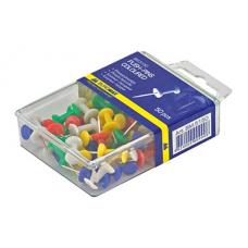 Кнопки-цвяшки Buromax 50 шт Кольорові (BM.5150)