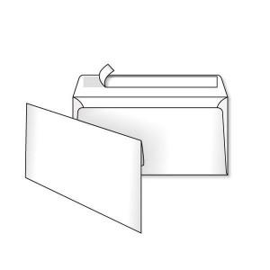 Конверт Kuvert Ukraine DL SKL 75 г/м2 Білий (12015)