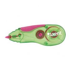 Коректор стрічковий Axent 5 мм х 5 м Зелено-рожевий (7006-02-A)