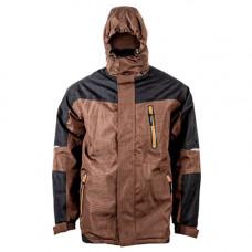 Куртка робоча Sizam Lerwick зимова Коричнево-чорна (30069)