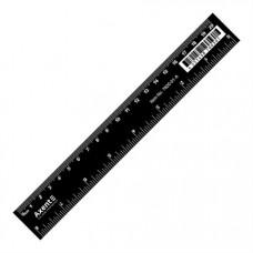 Лінійка Axent пластикова 20 см Чорна (7620-01-A)